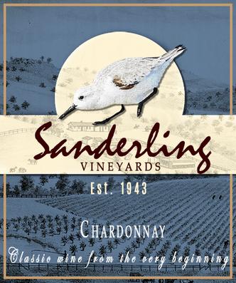 Sanderling Wine Label