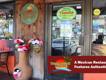 A Mexican Restaurant That Features Authentic Food