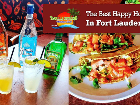 Tequila Sunrise Grill: The Best Happy Hour In Fort Lauderdale!