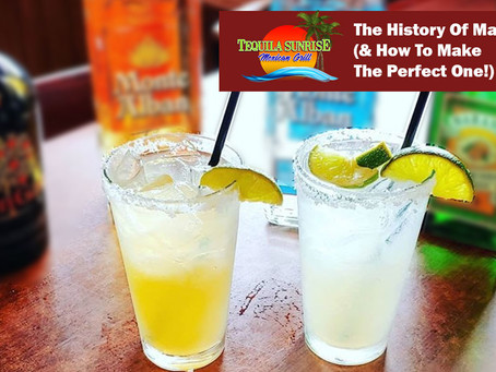 The History Of Margaritas (& How To Make The Perfect One!)