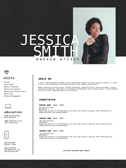 Strategically Designed Resume