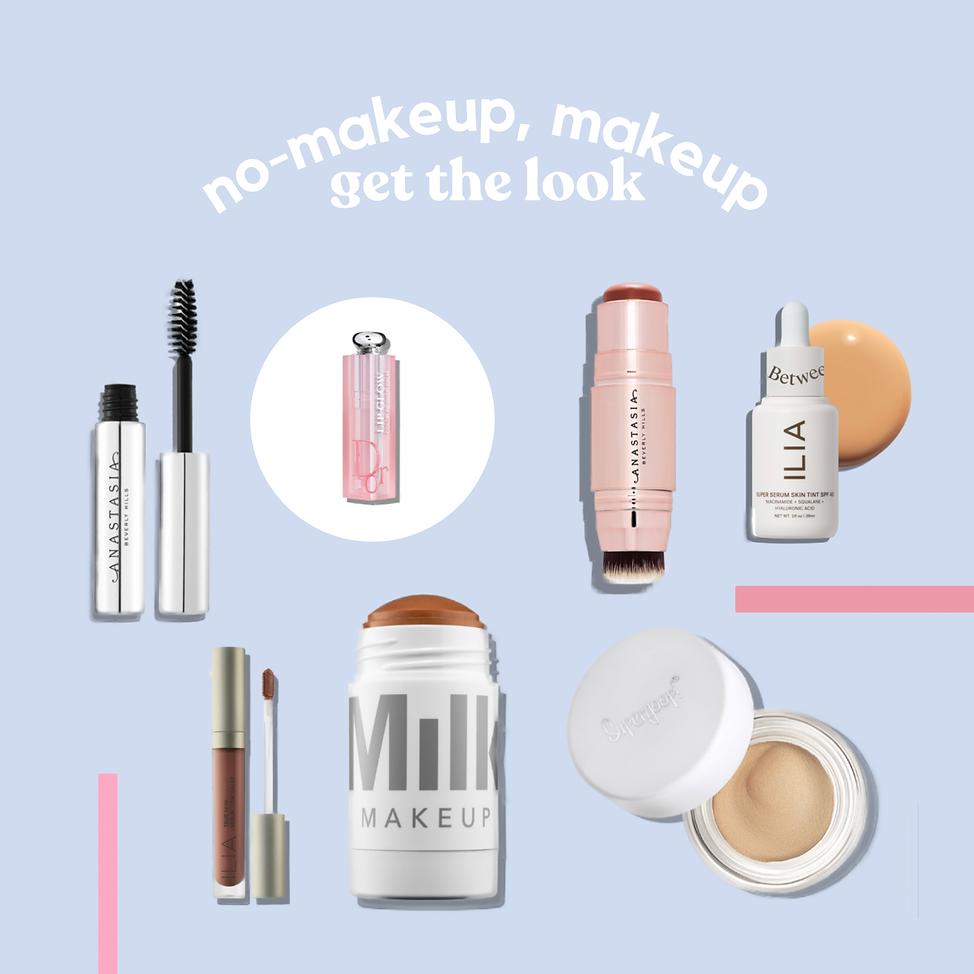 no makeup, makeup products