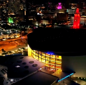 Hyde American Airlines Arena Cocktail Making Video