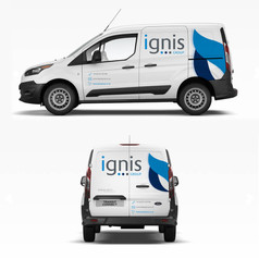 FORD TRANSIT CONNECT VINYL GRAPHICS