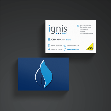 BUSINESS CARDS WITH SPOT UV TO HIGHLIGHTS