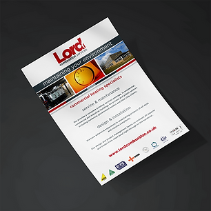 LORD A5 Leaflets Zest! Graphics Ltd - Graphic Design and Print Redditch Worcestershire
