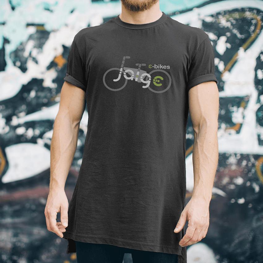 JAIGE E-BIKES TSHIRT  Zest! Graphics - Graphic Designer Redditch Worcestershire