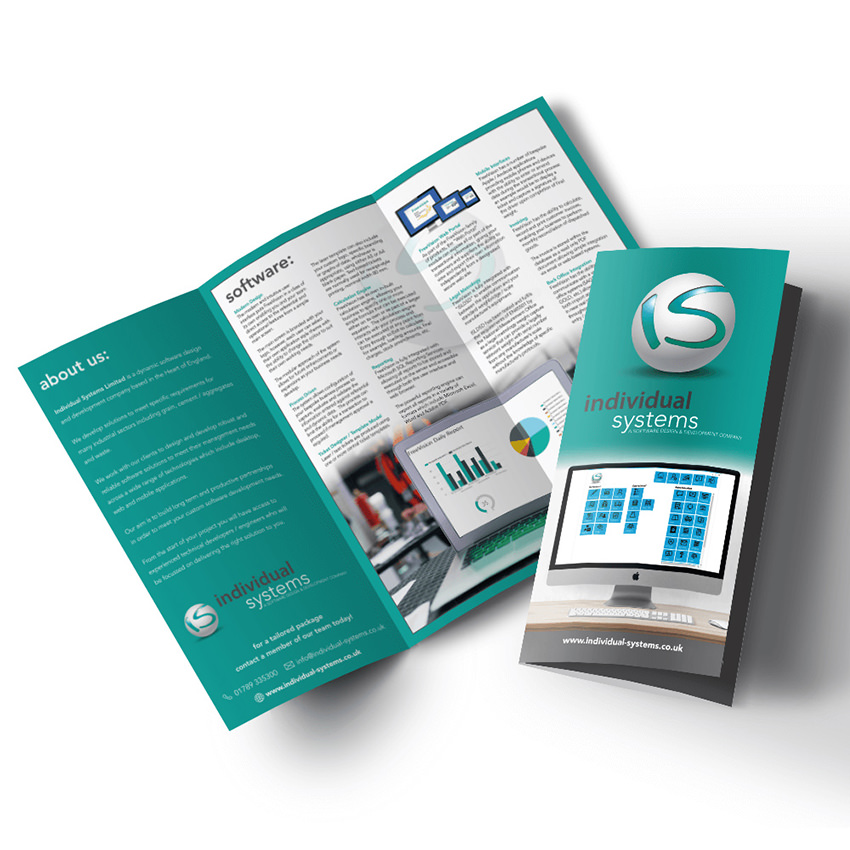 FOLDED LEAFLETS Zest! Graphics Ltd - Graphic Design and Print Redditch Worcestershire