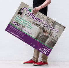 SITE BOARDS - LARGE FOAMEX POSTERS