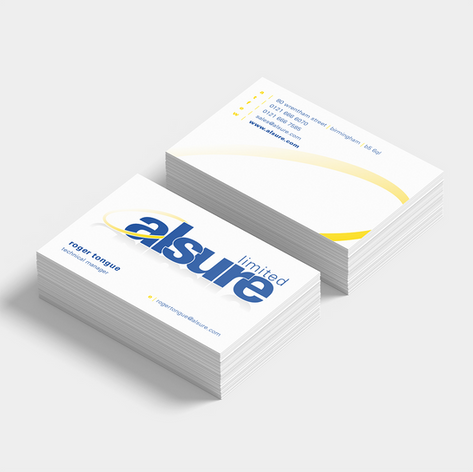 DOUBLE-SIDED BUSINESS CARDS WITH MATT LAMINATE FOR THAT PROFESSIONAL FINISH