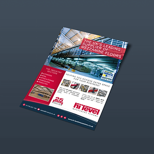 HI-LEVEL A5 FLYER_SINGLE SIDED Zest! Graphics Ltd - Graphic Design and Print Redditch Worcestershire