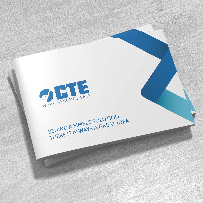 CTE BROCHURE DESIGN & PRINT Zest! Graphics | Graphic Designer Redditch Worcestershire