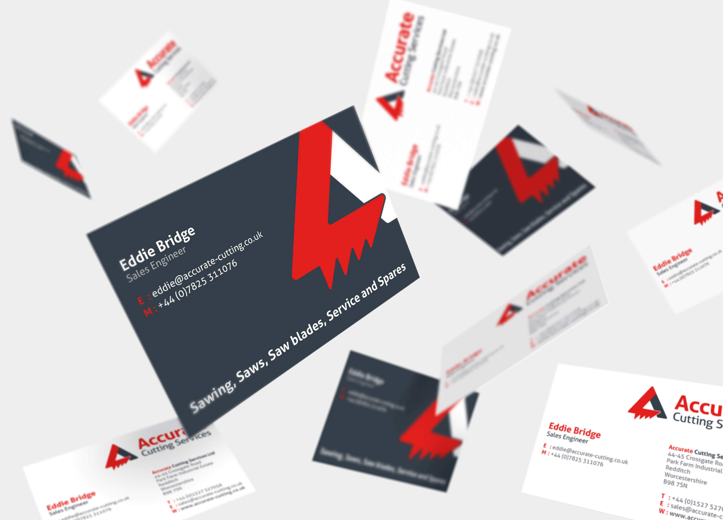 Business Cards with Spot UV Zest! Graphics Ltd - Graphic Design and Print Redditch Worcestershire