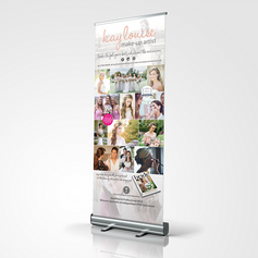 BEAUTIFUL PULL-UP / ROLLER BANNER
