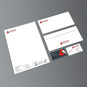 ACCURATE CUTTING STATIONERY LETTERHEADS BUSINESS CARDS Zest! Graphics Ltd - Graphic Design and Print Redditch Worcestershire