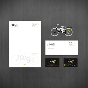 JAIGE E-BIKE LOGO DESIGN AND STATIONERY Zest! Graphics Ltd - Graphic Design and Print Redditch Worcestershire