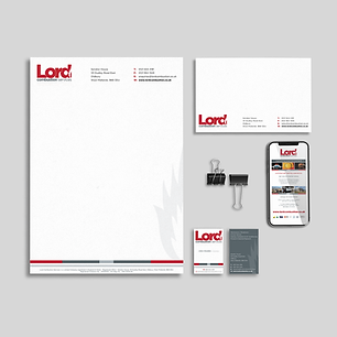 LORD LOGO & STATIONERY DESIGN Zest! Graphics Ltd - Graphic Design and Print Redditch Worcestershire