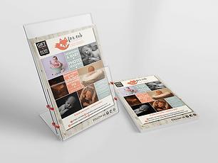 FOX CUB PHOTOGRAPHY FLYERS & LEAFLETS Zest! Graphics Ltd - Graphic Design and Print Redditch Worcestershire