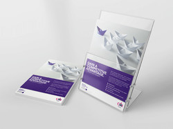 INFORMATIVE LEAFLETS & FLYERS - DESIGN & PRINT