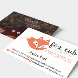 FOX CUB Business Cards