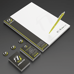 UNILITE STATIONERY LETTERHEADS & BUSINESS CARDS Zest! Graphics Ltd - Graphic Design and Print Redditch Worcestershire