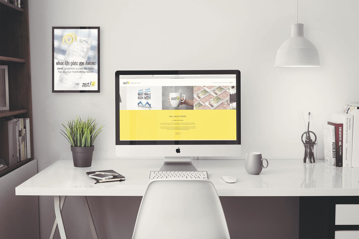 FEELING FRESH WEBSITE LAUNCH  Zest! Graphics -Graphic Designer Redditch Worcestershire