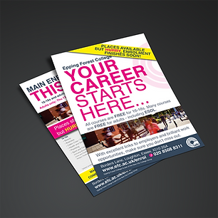 A5 DOUBLE SIDED FLYER Zest! Graphics Ltd - Graphic Design and Print Redditch Worcestershire