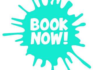 Sunday reminder to book in!