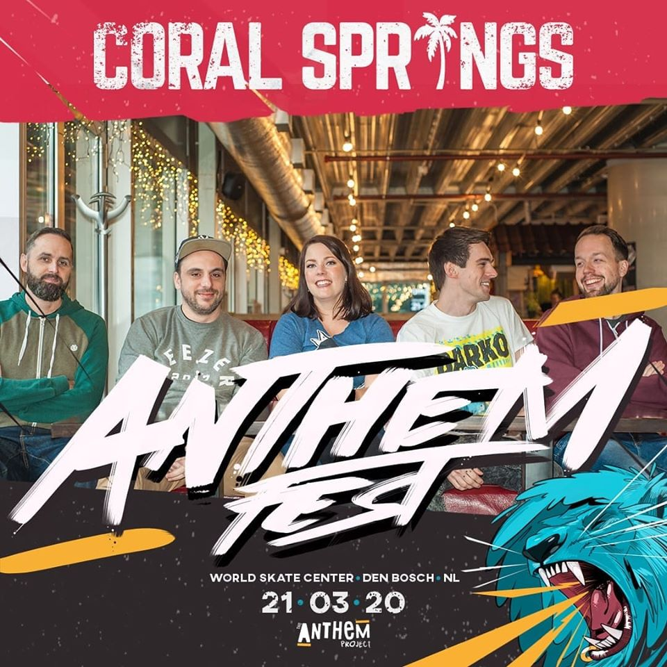 Coral Springs affiche Anthemfest