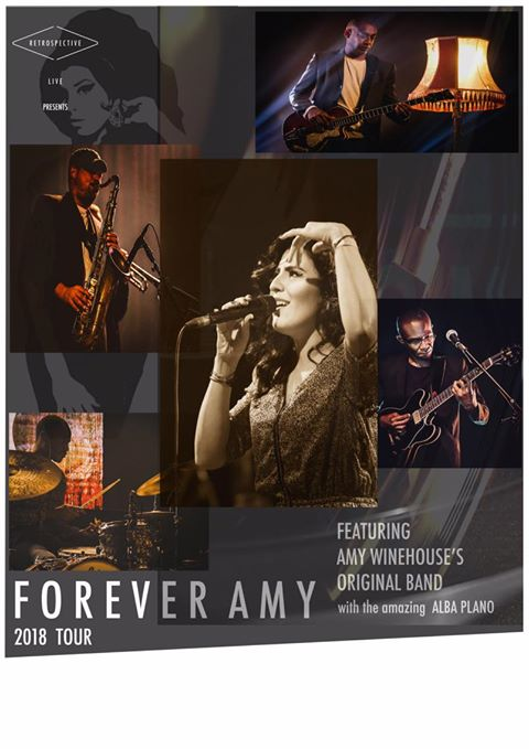 "Hawie op tourposter ""Forever Amy"""
