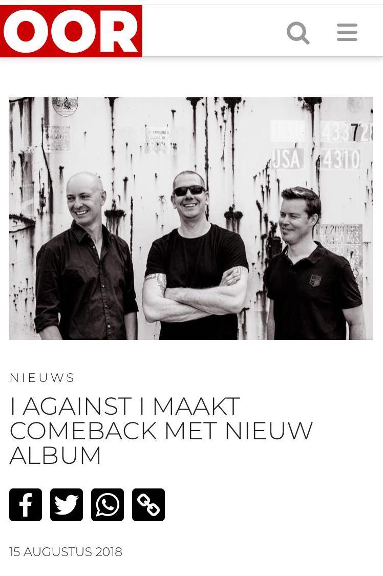 Foto ' I Against I ' - OOR.nl