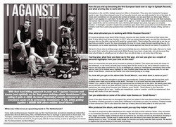""""""" I Against I """" in Stencil Mag"""