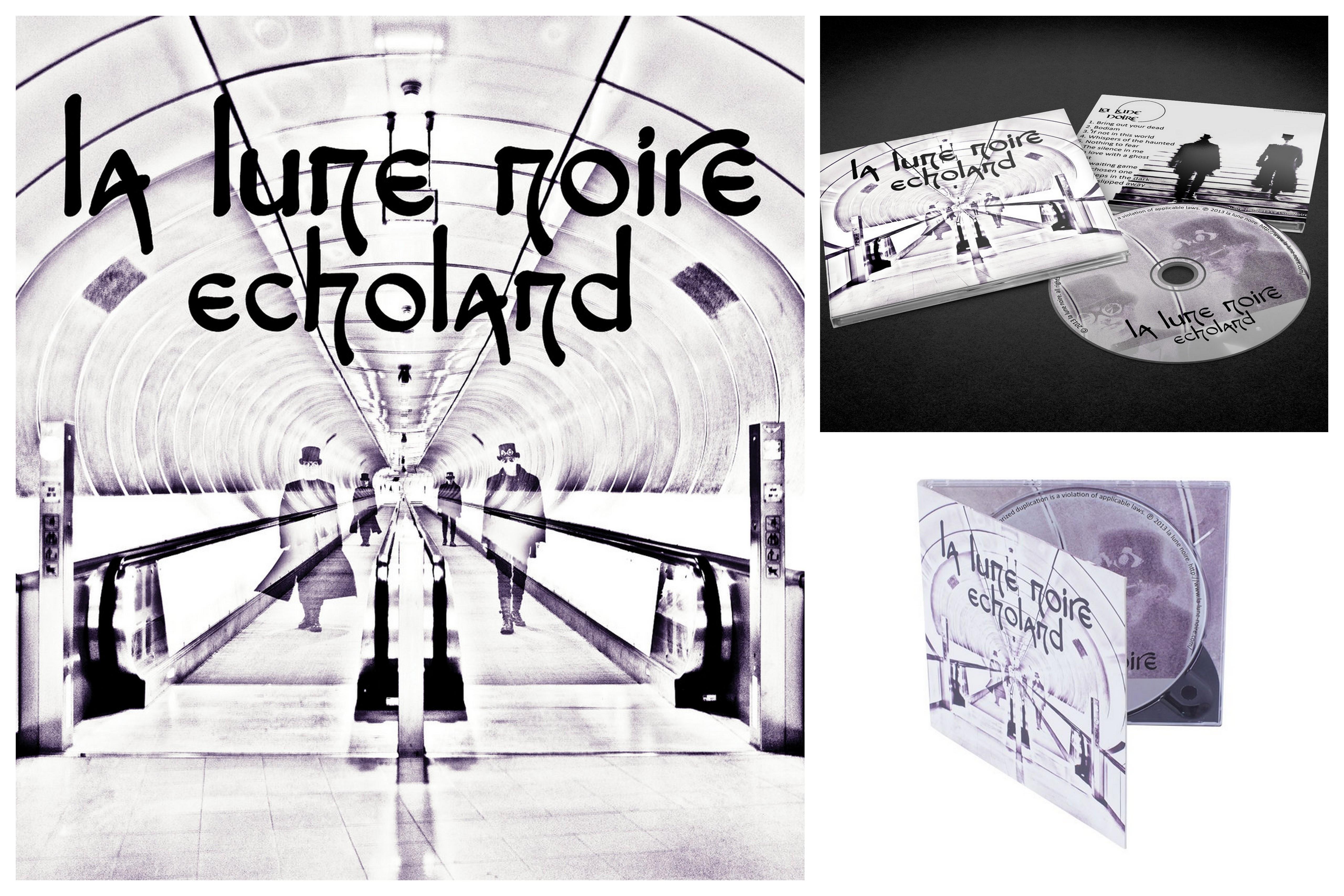 """Album """" Echoland """" La Lune Noire"""