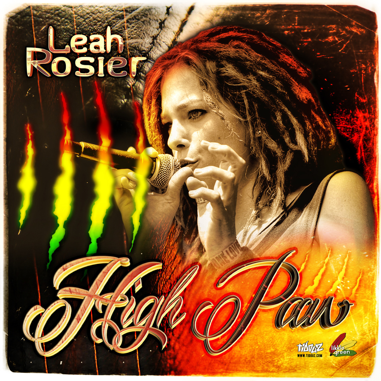 Coverfoto album Leah Rosier
