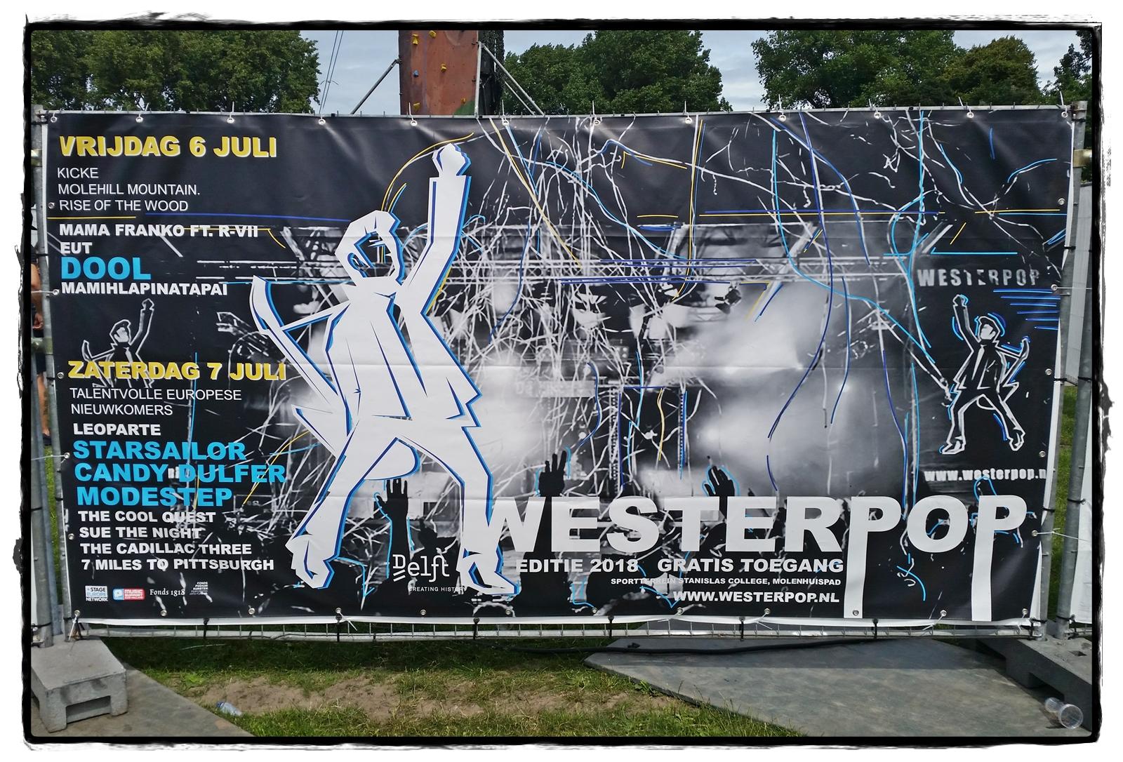 Affiche Westerpop 2018