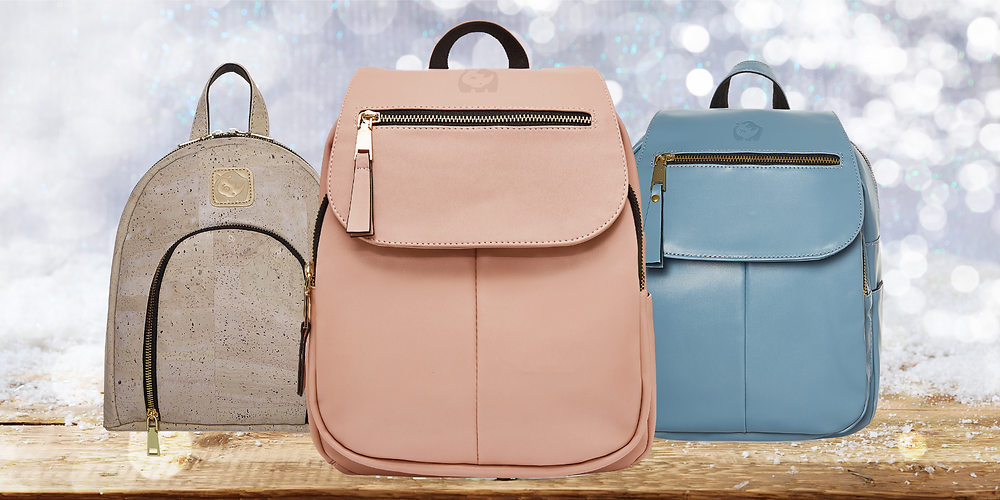 The Mackenzie Backpack in color 'Blush-Rose'