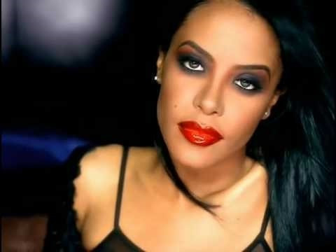 The smokey eye look as seen on singer and actress Aaliyah