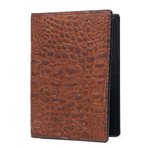 Red Gharial - Unisex Passport Wallet