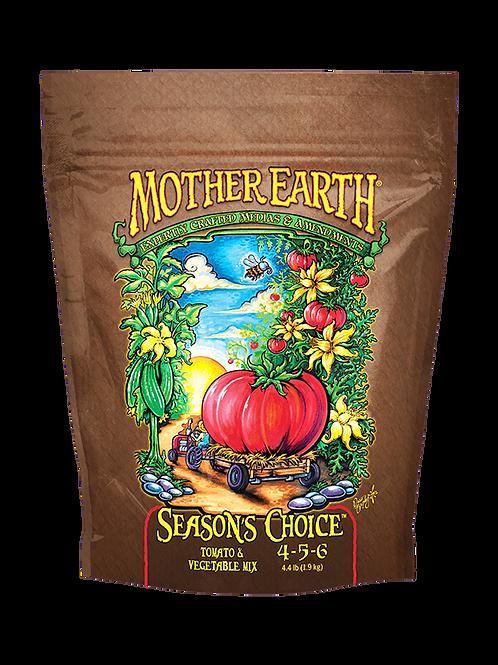 MOTHER EARTH SEASON'S CHOICE TOMATO & VEGETABLE