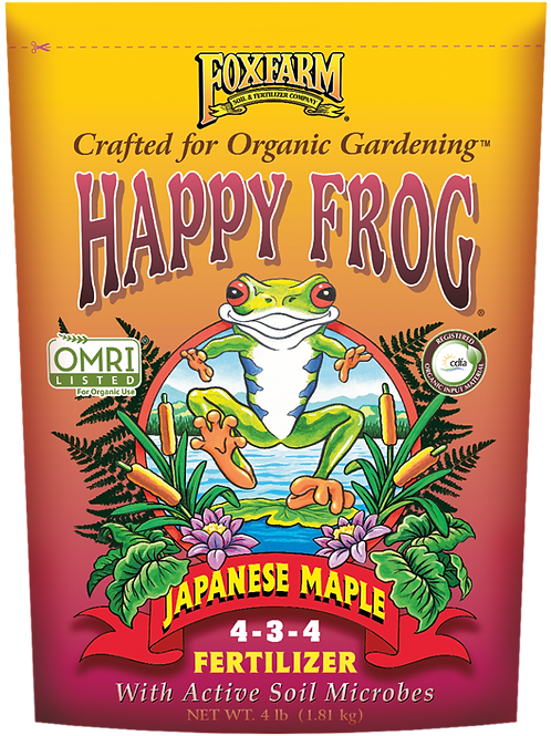 FOXFARM HAPPY FROG® JAPANESE MAPLE FERTILIZER