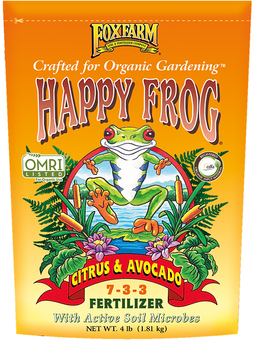 FOXFARM HAPPY FROG® CITRUS & AVOCADO FERTILIZER