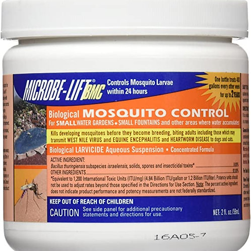 MICROBE-LIFT/BIOLOGICAL MOSQUITO CONTROL