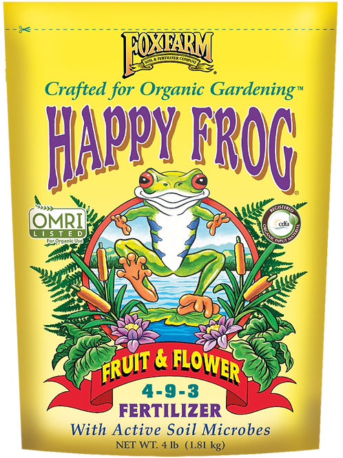 FOXFARM HAPPY FROG® FRUIT & FLOWER