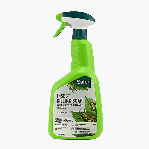 SAFER® BRAND INSECT KILLING SOAP WITH SEAWEED EXTRACT
