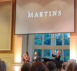 The Martins Singing