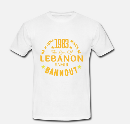 Samir Bannout T-Shirt - Golden Era Edition