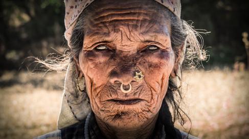Blind Woman - Nepal