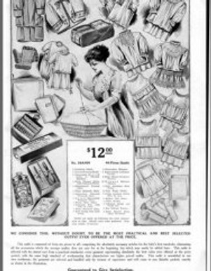 """Innovations in Marketing to Pregnant Women: Sears """"Baby Book,"""" 1907"""
