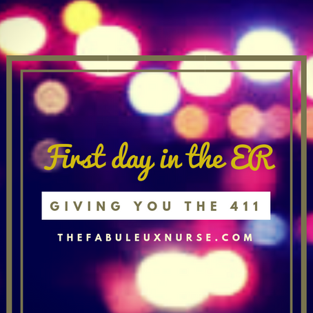 First Day in the ER, here's the 411!