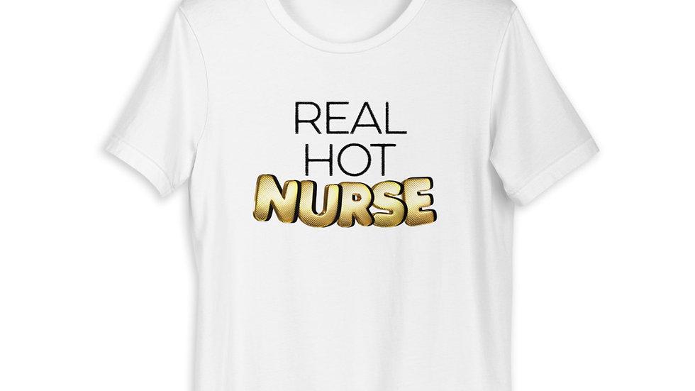 Real Hot Nurse Short-Sleeve Unisex T-Shirt